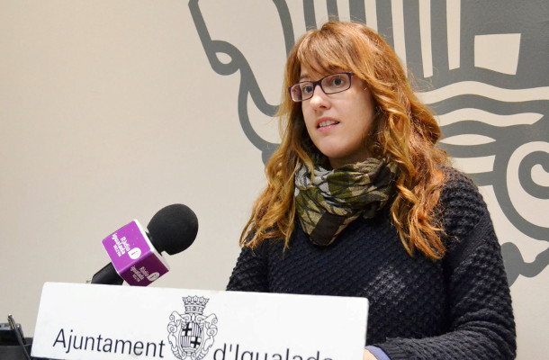 Patricia Illa regidora d'Ensenyament i Joventut Igualada - Foto Ajuntament d'Igualada - La Veu de l'Anoia - VeuAnoia.cat