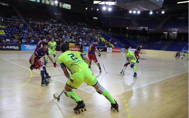 FC Barcelona Igualada HC abril 2016 - foto @Igualada HC - La Veu de l'Anoia - VeuAnoia.cat