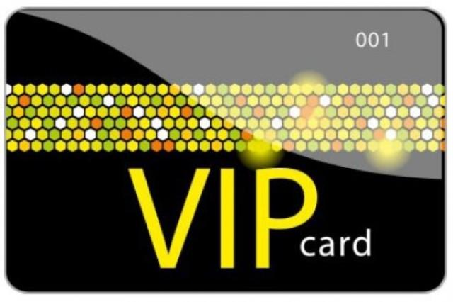 Tarjetas VIP para colectivos o grupos de clientes