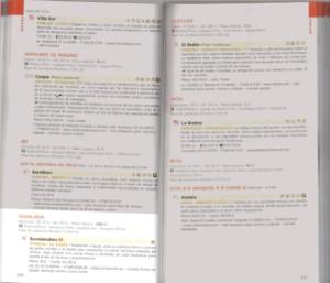 Retall de la pàgina de la Guia Michelin on hi apareix el restaurant Somiatruites.