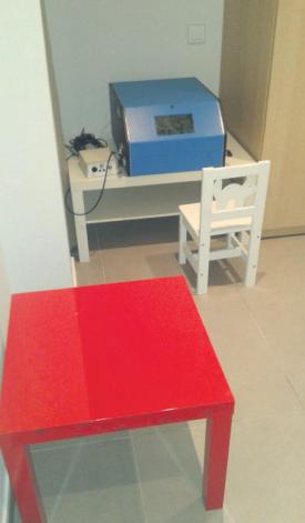 Audiometria infantil (peep show).