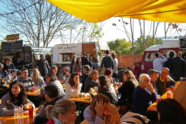 Les Food-Trucks van tornar a ser un reclam gastronòmic.