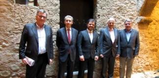 El Consell Asessor de la UEA, amb el president Blai Paco - La Veu de l'Anoia - VeuAnoia.cat