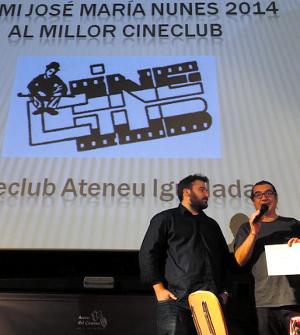 Premi Cineclub de l'Ateneu - La Veu de l'Anoia - VeuAnoia.cat
