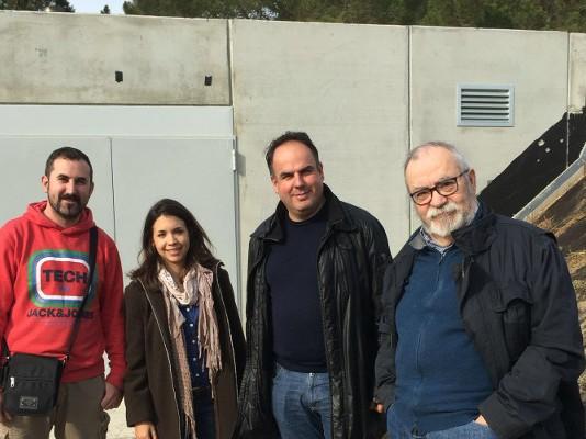 caldera visita torre claramunt - caldera biomassa hostalets