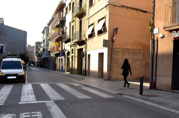 carrer santa caterina igualada - La Veu de l'Anoia - VeuAnoia.cat