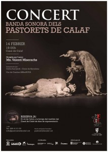 poster concert BSO els pastorets de calaf - La Veu de l'Anoia - Veuanoia.cat