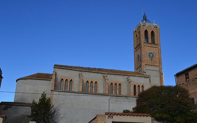 Esglesia parroquial Sant Pere Masquefa - Foto Mª Alba Flickr - La Veu de l'Anoia - VeuAnoia.cat