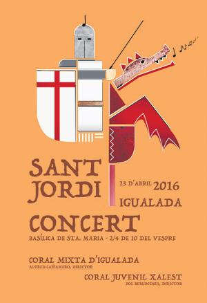 Concert de Sant Jordi de la Mixta i la Xalest - La Veu de l'Anoia - VeuAnoia.cat