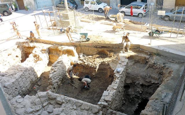 Excavacions als Prats de Rei - La Veu de l'Anoia - VeuAnoia.cat