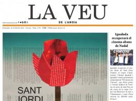 portada La Veu 22 abril 2016 - La Veu de l'Anoia - VeuAnoia.cat