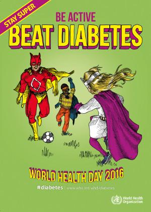 poster dia mundial de la salut 2016 - OMS - La Veu de l'Anoia - VeuAnoia.cat