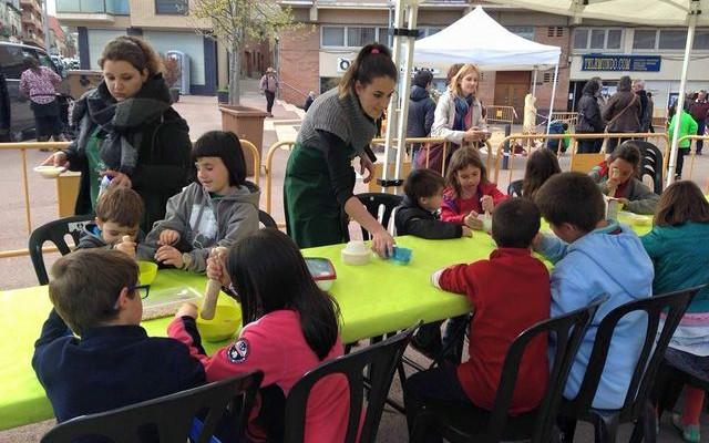 taller infantil EcoFira Calaf - La Veu de l'Anoia - VeuAnoia.cat