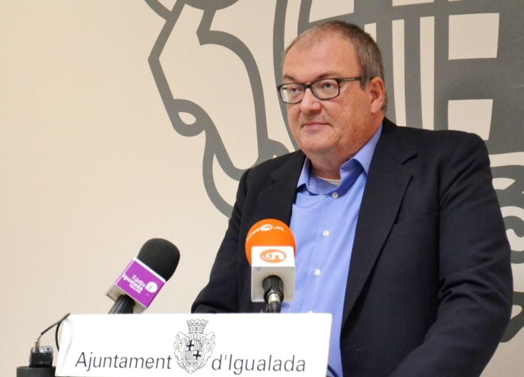 El tinent d'alcalde d'Entorn Comunitari, Fermí Capdevila.