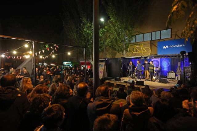 L'escenari Movistar va acullir diverses actuacions durant tota la fira.