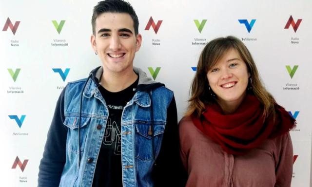 Sergi Pérez i Sílvia Rodríguez.